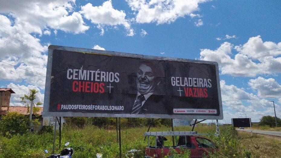 Bolsonaro é recebido no interior do rn com protestos