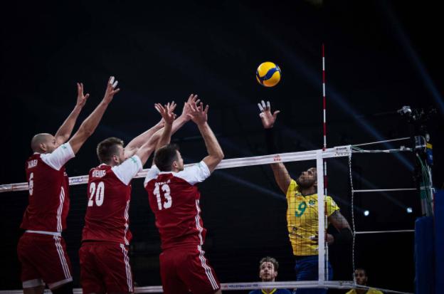 Brasil vence polônia de virada e conquista título inédito da liga das nações