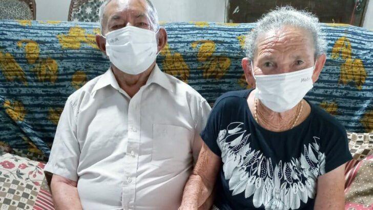 Rn: covid-19 separa idosa de 103 anos do marido pela primeira vez em 60 anos de casados