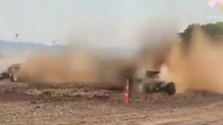 Vídeo: motorista perde controle do carro em rally e deixa 29 pessoas feridas