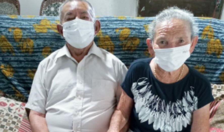Hospital joão machado, em natal, promove reencontro de casal internado com covid-19 que venceu a doença