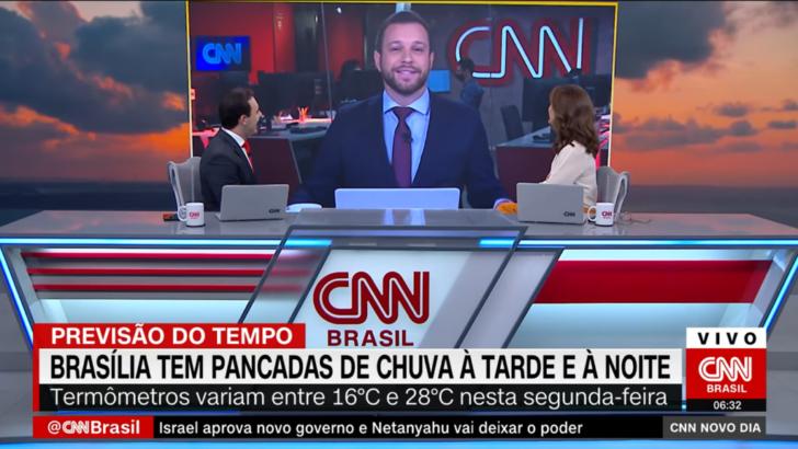 """Apresentador da cnn perde a vergonha e fala sobre vida íntima ao vivo: """"na seca"""""""
