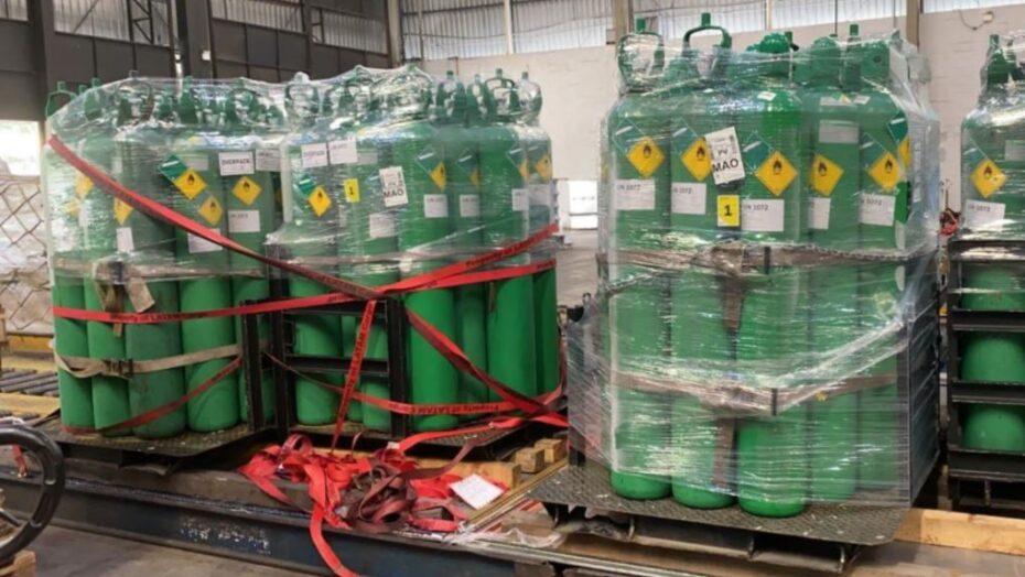 Petrobras doa 100 cilindros de oxigênio para o rio grande do norte
