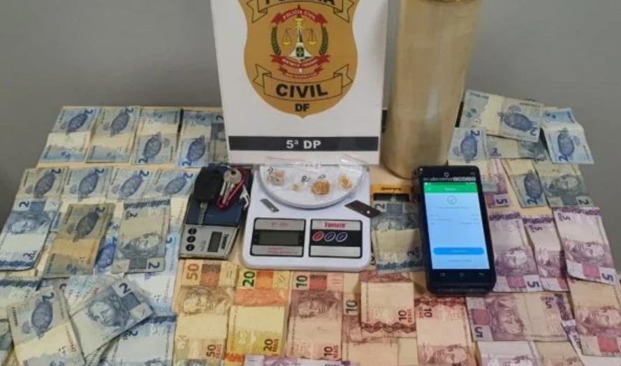 Polícia prende dono de quiosque que trocava crack por cestas básicas