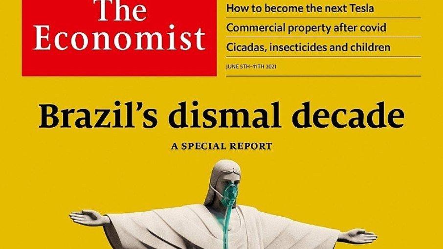 """Secretaria de comunicação acusa """"the economist"""" de recomendar morte de bolsonaro"""