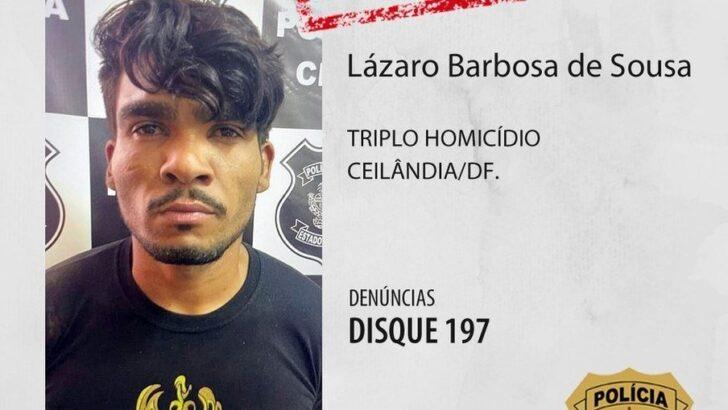 """Polícia prende homem suspeito de chacina: """"psicopata"""", diz secretário de segurança"""