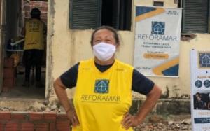 Projeto reforamar entrega reforma de casa e abre inscrições para novos voluntários