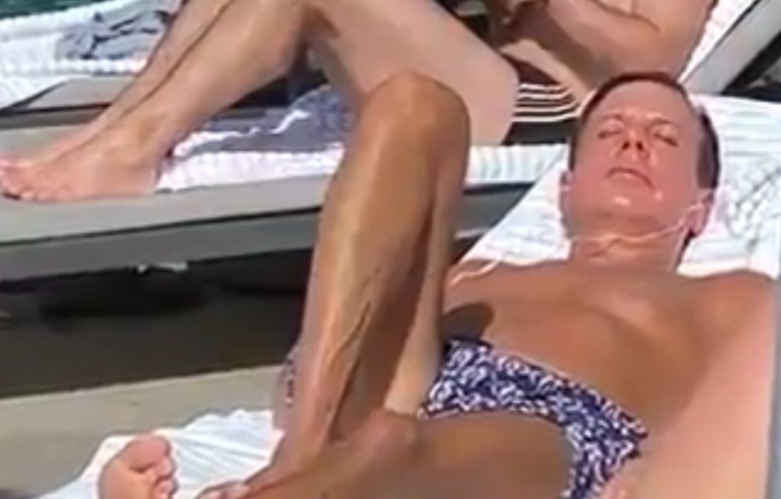 Doria toma sol sem máscara em piscina de hotel no rio e vira alvo de críticas em meio à pandemia