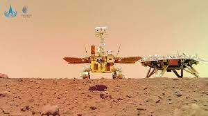 China divulga imagens inéditas de marte tiradas por seu rover zhurong