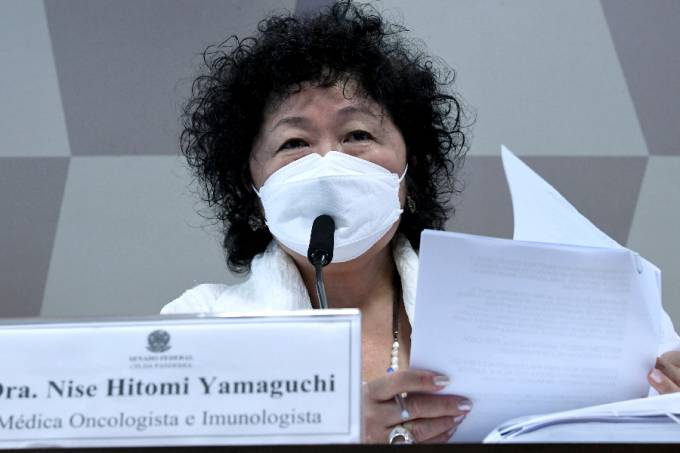 Cpi da covid: nise yamaguchi nega intenção de mudança na bula da cloroquina