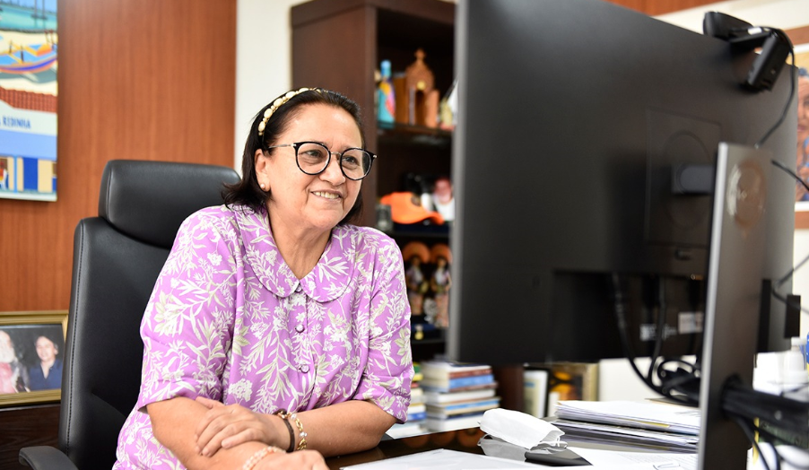 Fátima bezerra anuncia chegada de mais 109,5 mil doses de vacinas contra a covid-19