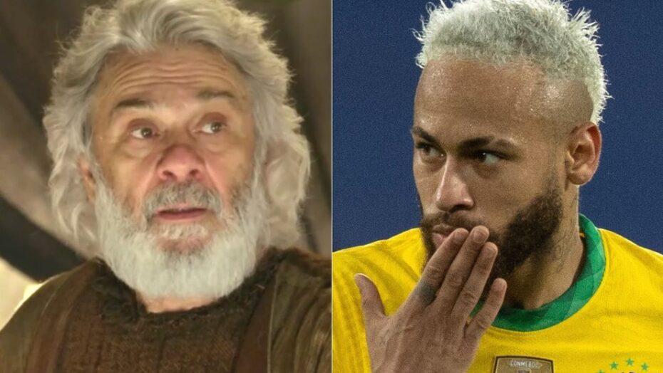 Neymar perde para abraão: novela bíblica da record dá mais ibope do que copa américa no sbt