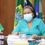 Em reunião com governadores, fátima ressalta orçamento limitado para o combate à covid