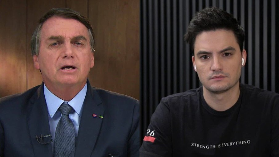 Felipe neto critica bolsonaro por comemorar morte de lázaro barbosa