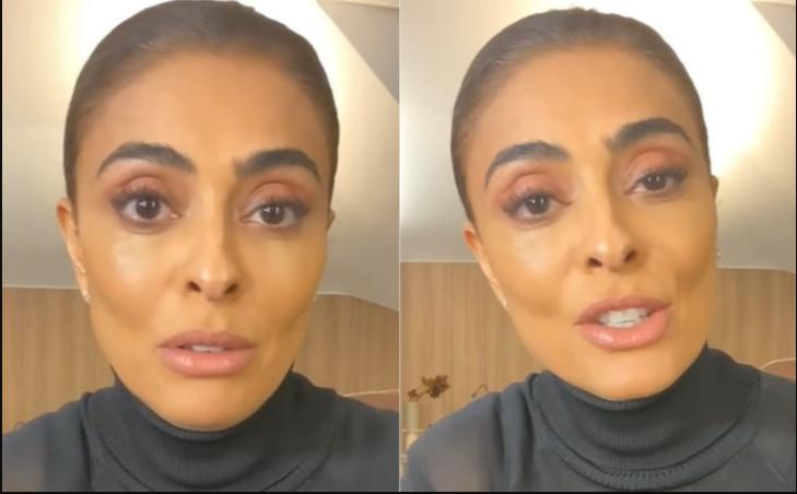"""Juliana paes diz ter sido """"agredida"""" por atriz e afirma: """"não sou bolsominion"""""""