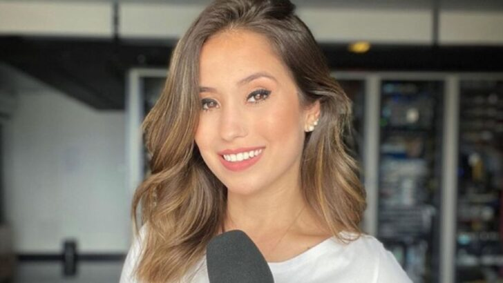 Após ser xingada por bolsonaro, repórter da globo é vítima de notícias falsas e parte para o ataque