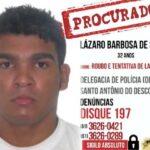 Carta da defensoria pública pede proteção especial para serial killer procurado há 14 dias