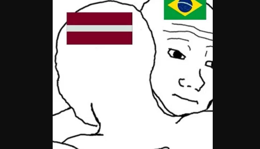 Todo dia um 7 a 1: alemanha repete goleada desta vez contra a letônia e internet promove chuva de memes