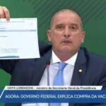 Onyx acusa deputado de fraudar documento e mentir sobre covaxin