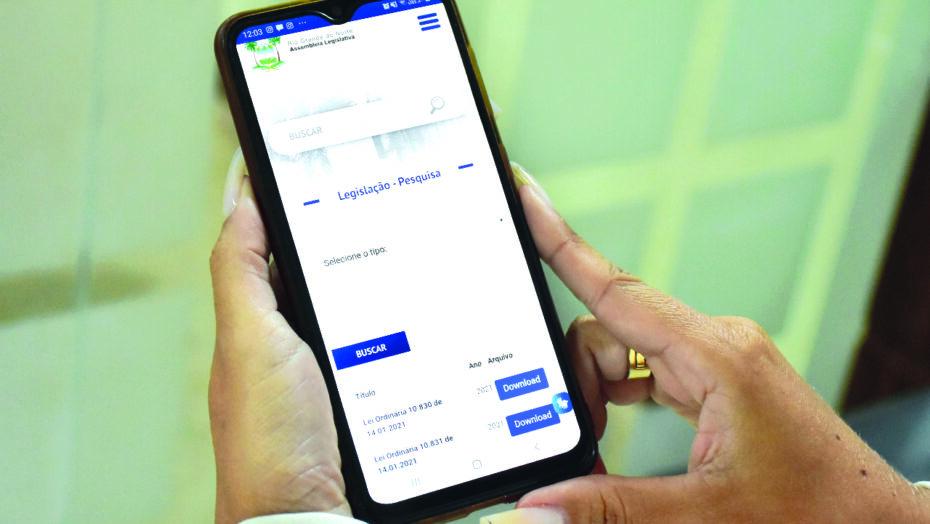 Ferramenta possibilita que potiguares tenham acesso às leis pelo smartphone