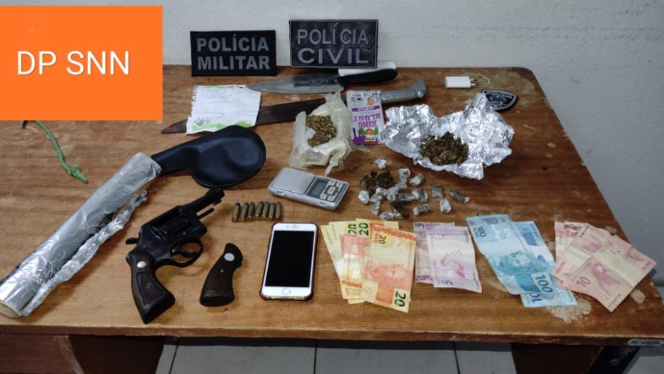 Polícia civil prende suspeito de integrar facção criminosa em serra negra do norte