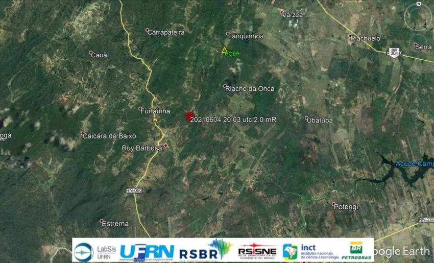 Laboratório sísmológico registra abalos em duas cidades do rn nesta sexta-feira 4