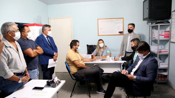 Comissão de saúde da câmara municipal visita policlínicas das zonas sul e norte de natal