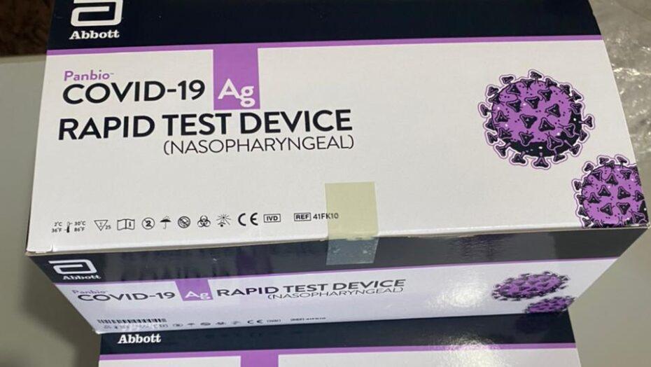 Unicat distribui quase 11 mil testes para covid-19 no rn