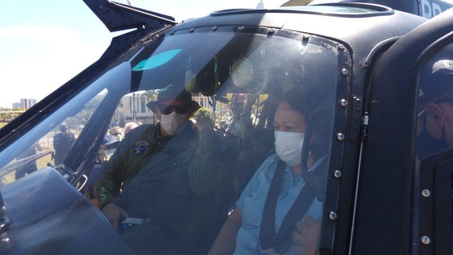 Helicóptero potiguar 1 volta a operar nesta sexta-feira após revisão