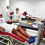 Campanha da alrn reúne 50 pessoas para doarem sangue e aumentar volume de bolsas do hemovida