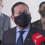 Mourão diz que não foi convidado a reunião ministerial: 'sinto falta'