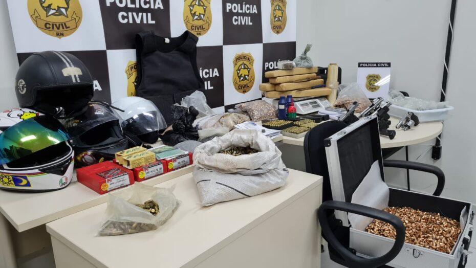 Polícia civil apreende mais de 7kg de maconha em natal
