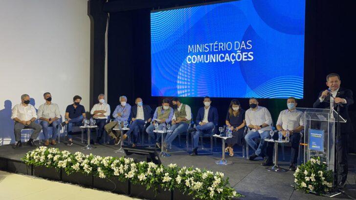 Ministro das comunicações, fábio faria destaca modelo de gestão do prefeito de ceará-mirim, júlio césar câmara