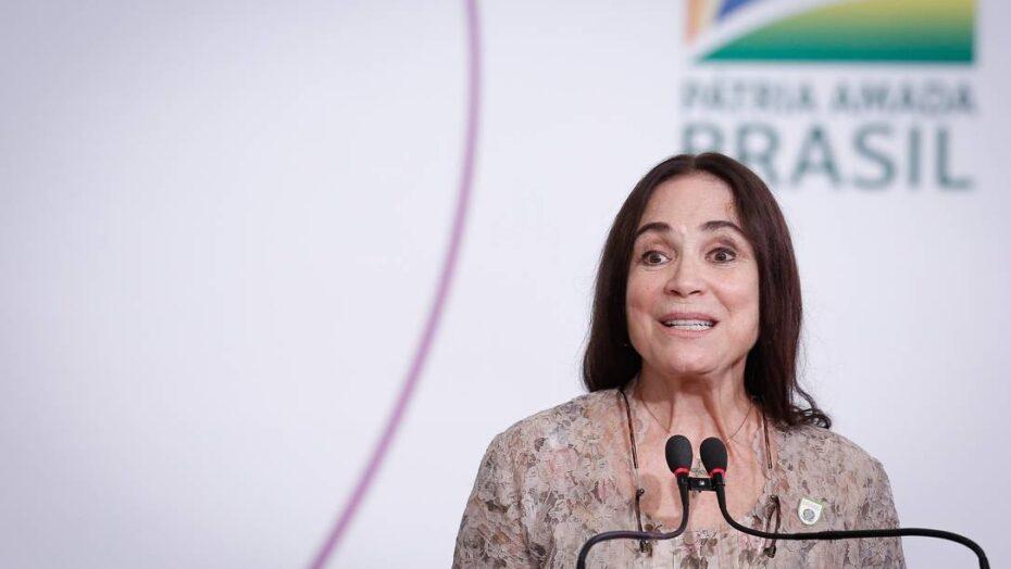 Lula pede indenização de mais de r$ 130 mil a regina duarte por danos morais