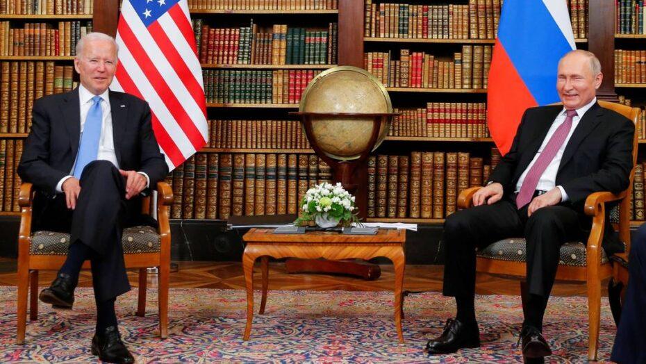 Biden e putin se encontram pela primeira vez em meio à escalada de tensões