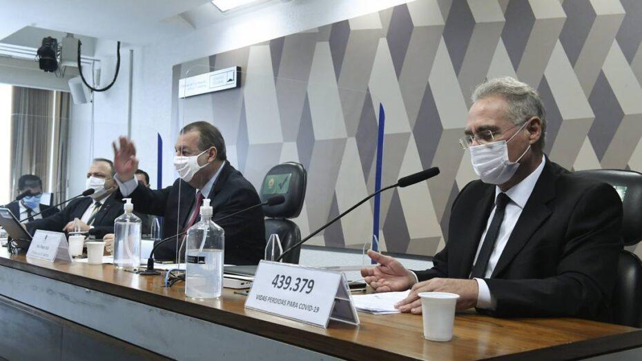 Renan anuncia lista de 14 investigados e diz que bolsonaro poderá ser responsabilizado ao fim dos trabalhos da cpi