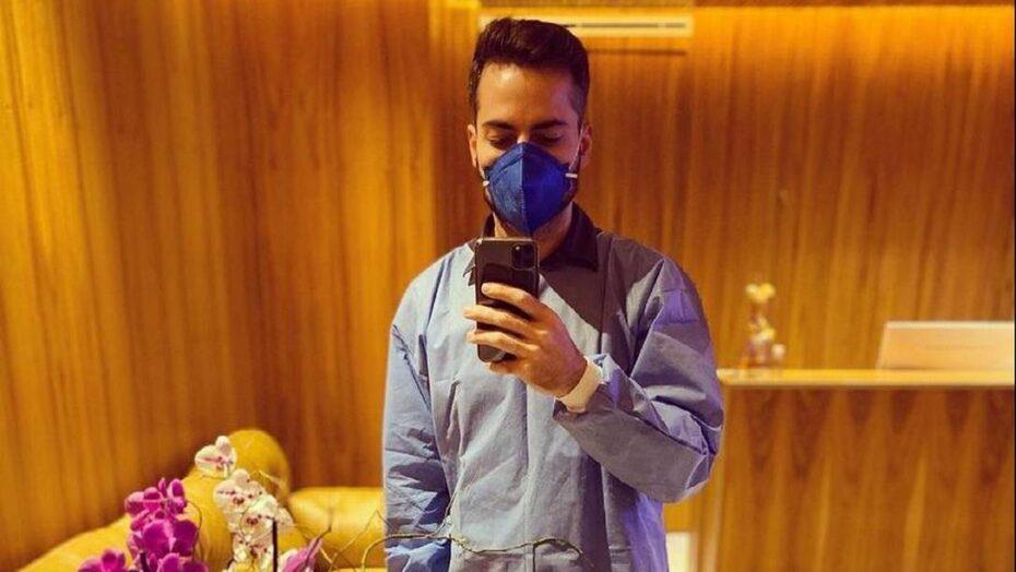 Após pouco mais de um mês da morte de paulo gustavo, thales bretas volta ao trabalho