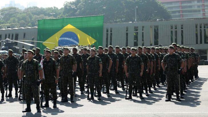 solenidade de passagem do comando do comando militar do sudeste cmse no quartel general do exercit x