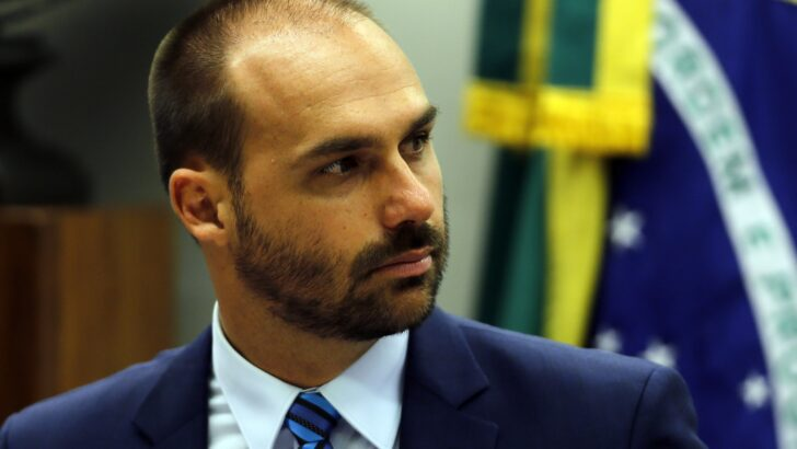 bsb brasilia brasil deputado eduardo bolsonaro preside a comissao de rel