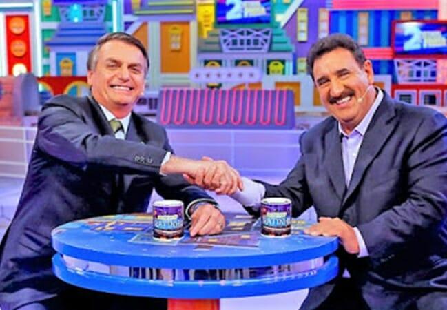 Bolsonaro e Ratinho