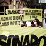 Protesto Bolsonaro Europa x