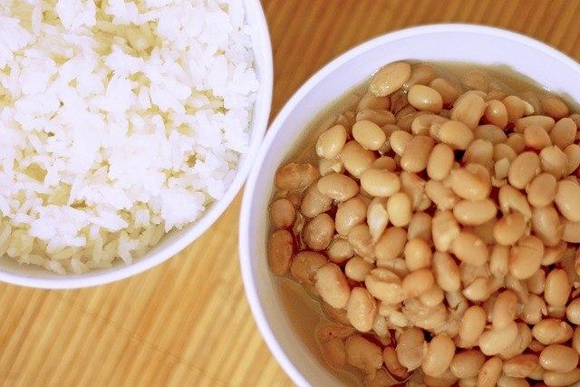 arroz com feijao