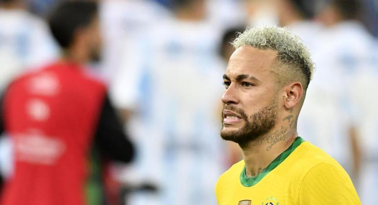 brasil copa america neymar