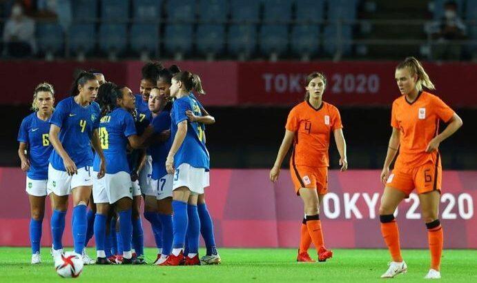brasil holanda futebol feminino