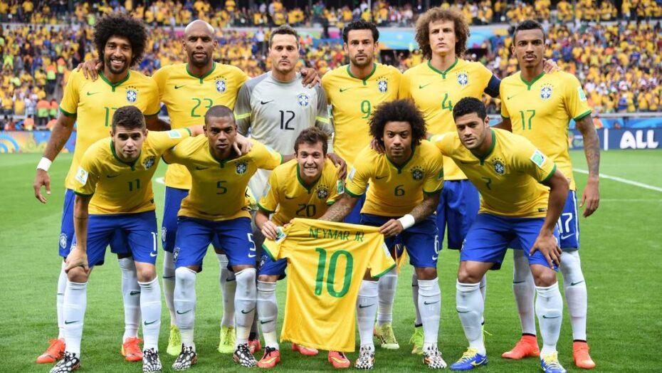 x FromL Brazils defender Dante Brazils defender Maicon Brazils goalkeeper Julio Cesar Braz jpg pagespeed ic dyorY