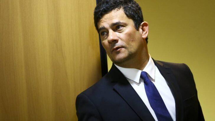 x O ministro da Justica e Seguranca Publica Sergio Moro durante entrevista coletiva para divu jpg pagespeed ic lrbwdBi