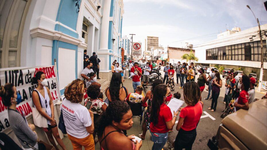 Protesto em Natal nesta quinta-feira cobra ações para as pessoas em situação de rua