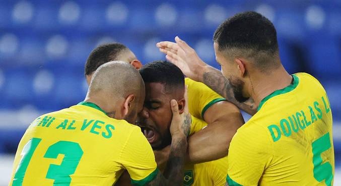 brasil futebol espanha malcom gol