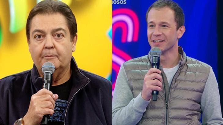 """Tiago leifert faz comentário ao vivo e esposa de faustão devolve: """"amigão que todo mundo quer ter"""""""