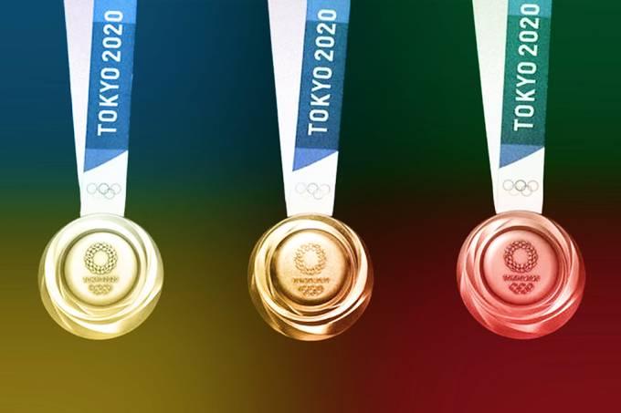 medalhas toquio